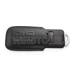 Real Leather Stamped Custom Car Remote Key Case