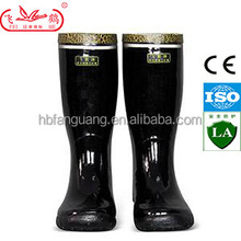 black industrial and mining men rubber safety working Boots