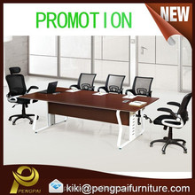 Aluminum frame strong small meeting table for general use