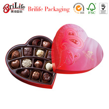 Best seller Fabric covered heart shaped gift boxes in Shanghai