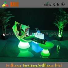 LED illuminated plastic beach chair for sale