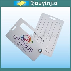 PVC Airline Luggage Tag Full Color