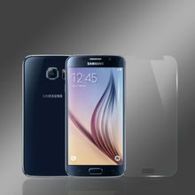 Extremely transparent cellphone screen protector for samsung galaxy s6 protective film