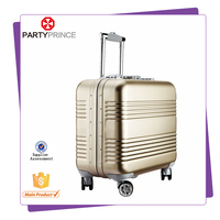 guangzhou aluminum trolley travel house suitcase for lady