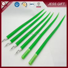 New model ball pen Soft Silicone pen green onion pen promotional