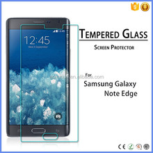 shenzhen factory 0.3mm 2.5d tempered glass screen protector for samsung galaxy note edge vatop cell phones