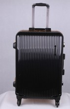 electric and hotel luggage with luggage tag