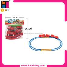plastic classical b/o model slot toy rail train set