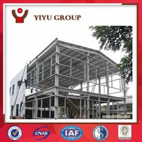 Low Cost Prefab light steel structure workshop factory plant building shed for sale