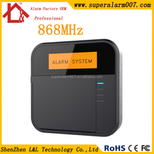 Wireless Home Security Safe House Alarm System GSM+PSTN dual network burglar alarm system Android & IOS