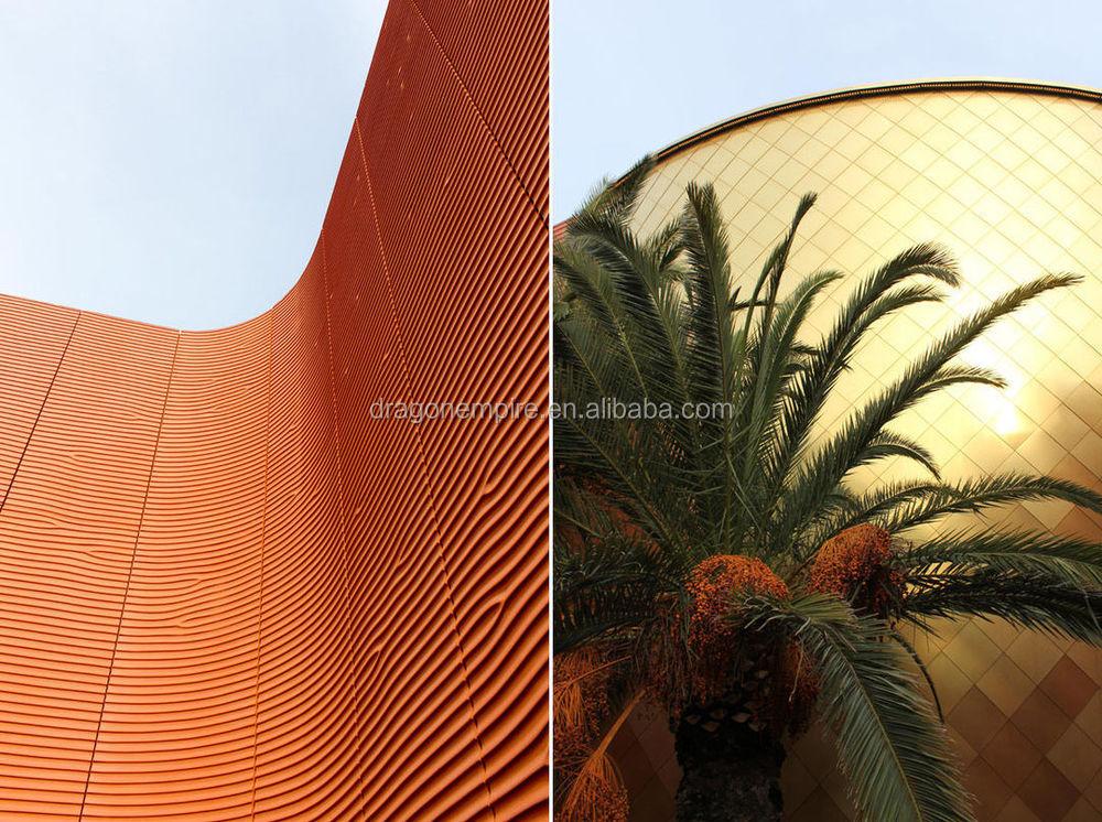 Grc Cladding Colors : D grc wall cladding exterior concrete panels