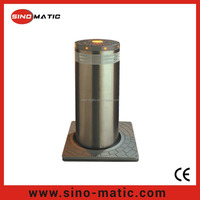 Electric Stainless Steel Automatic Hydraulic Rising Bollard with car detector