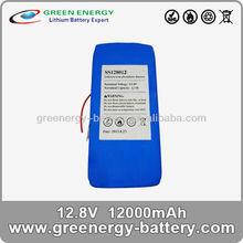 best price battery ! 12v battery price lifepo4 12Ah battery pack