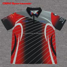 Sublimated motocross wear custom racing sports shirts