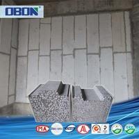OBON Effective waterproof eps cement sandwich shower wall board