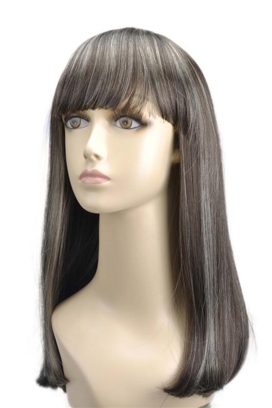 Quality White Wig 107