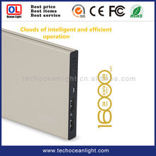 Best seller high capacity smart mobile power bank , cell phone charger 16000mah