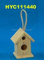 wooden bird carrier