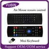 Top Selling MX3 wireless keyboard and mouse 81-Key Somatosensory remote control MX3 wireless keyboard mouse