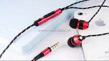 mobile handfree earphone wtih for ear phone / mobile accessories