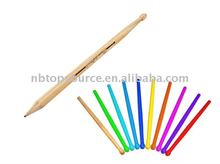 Hot Sale Mini Cheap Wooden Portable Natural School Kids Color Pencil Set for promotion