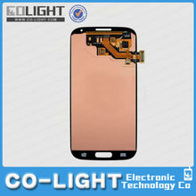 Lowest price lcd + screen digitizer+ bezel frame for samsung galaxy s4