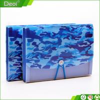 Deoi OEM customized PP/PVC wholesale recycled cheap plastic expanding file folder