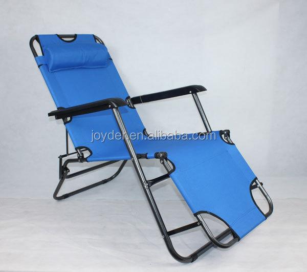 Popular Cheap Aluminum Luxury Lightweight Portable Folding Beach Chaise Sun L