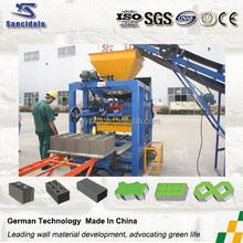 Semi automatic hollow block making machine/manual block machine makings