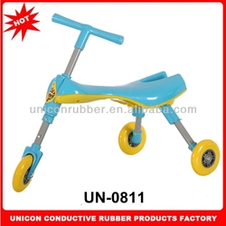 Factory direct sale cute and lovely plastic baby baby cart 3 wheels folding baby cart with handle UN-0811