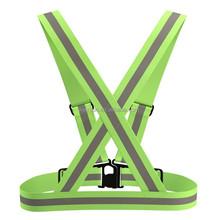 High Visibility Warning Security Working Reflective Vest Reflective light elastic band vest