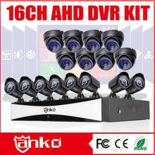 Nueva llegada AHD 16 <span class=keywords><strong>DVR</strong></span> descarga CMS con 16 cámaras de bala