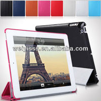 Stylish New High Quality Pu Leather Case Stand Cover For ipad Mini With Stylus