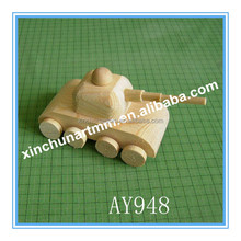 High quality wooden toy tank wholesale