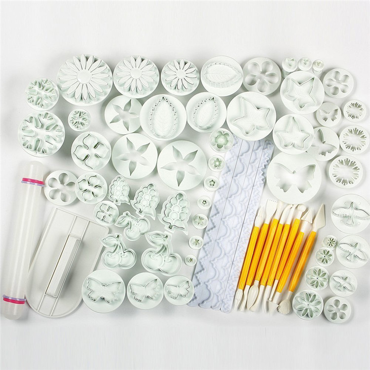 21 sets 68pcs cake decration tool set fondant cake cutter
