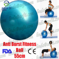 New Fitness Exercise Pilates Ball 65cm Pump Included