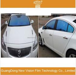 Explosion-proof VLT80% Solar control anti-glare 2mil car window decoration automobile chameleon car tint