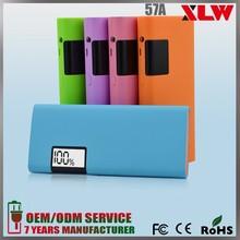 High Capacity 5 colors Portable Charger 13000 12000 10000 mah Power Bank
