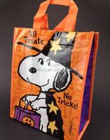 resuable cartoon printed pp lamination non woven bag