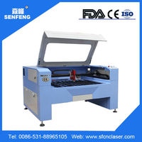 Senfeng Economic 1390 co2 glass tube laser cutting metal machine
