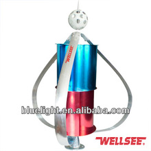 off-grid high efficiency wind turbine generator WS-WT400W from Wellsee factory small size low noise