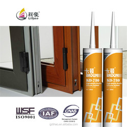 acetic curing construction glass window gap sealing silicone sealant