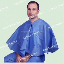 OEM Patient Exam Cape Extra large disposable exam vest features telemetry breast pockets,