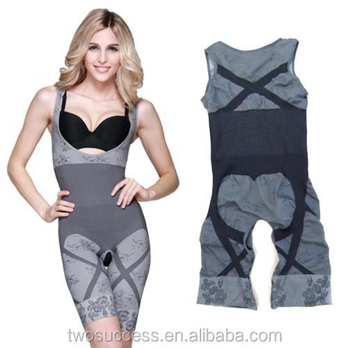 Bamboo Charcoal Seamless Slimming BodySuit ,Body Shaper Tummy Basque c .jpg