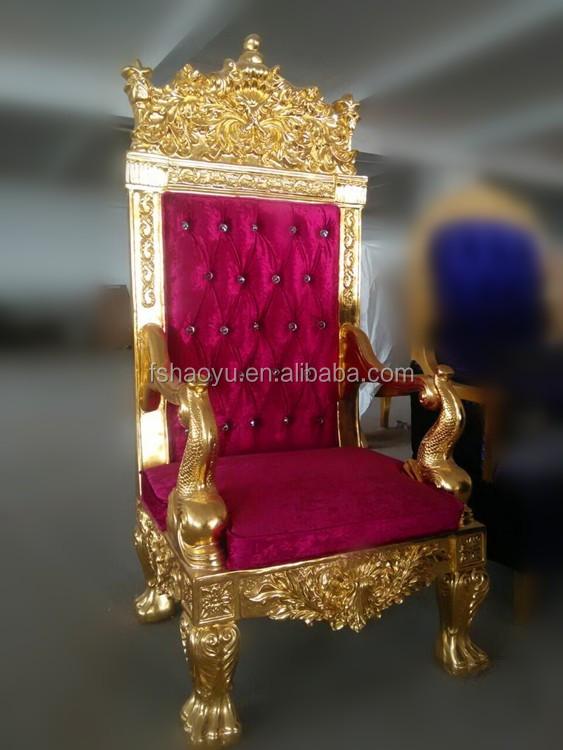 or bois chaise tr ne roi rouge velours pas cher chaise tr ne roi chaises en bois id de produit. Black Bedroom Furniture Sets. Home Design Ideas