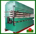 Jaw máquina de la prensa Tipo flate vulcanizador / caucho