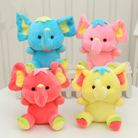 18CM Plush Material and Elephant Plush Toys Doll for Kids