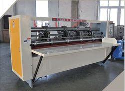 Thin blade high speed cardboard corrugated slitter scorer machine /corrugated carton paper board thin knife cutter machine