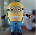 Despicable me minion mascot costume for adults