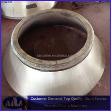High Manganese Steel Cone Crusher Concave and Mantle For Cone Crusher Bowl Liner